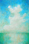 Cloud Painting Framed Prints - Coastal Framed Print by Pam Talley