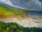 Irish Impressionist Painting Framed Prints - Coastal road to Barleycove Framed Print by Conor Murphy