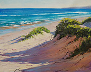 Signed . Nature Paintings - Coastal Sand by Graham Gercken