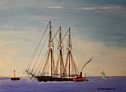 Bill Hubbard - Coasting Schooner Glendon