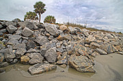 Jekyll Prints - Coastline Sharpness Print by Betsy A Cutler East Coast Barrier Islands