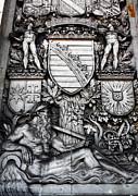 Coat Of Arms Posters - Coat of Arms Poster by John Rizzuto