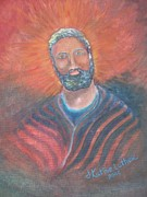 Saint Joseph Posters - Coat of Many Colors Poster by Kathleen Luther