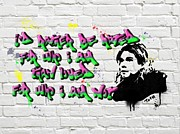 Kurt Cobain Digital Art - Cobain Graffiti by Laura Toth