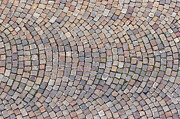 Flooring Prints - Cobblestones Print by Michal Boubin