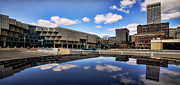Panoramic Digital Art Originals - Cobo Hall Detroit Michigan by Gordon Dean II