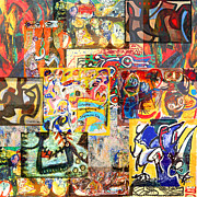 Avant Garde Mixed Media - COBRA movement 1948 to late 1950s by Anders Hingel