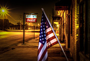 Small Town America Prints - Coca-Cola and America Print by David Morefield