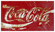 Coca-cola Sign Art - Coca Cola Classic Sign by John Stephens
