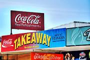 Coca-cola - Old Shop Signage Print by Kaye Menner