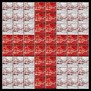 Coca-cola Sign Art - Coca Cola Red Cross by John Stephens