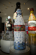 Bottle Cap Photo Posters - Coca-Cola Sculpture Poster by Jessica Berlin