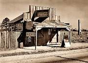 Shack Prints - Coca Cola Shack Print by Benjamin Yeager