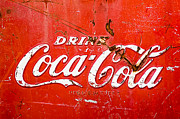 Soda Pop Posters - Coca-Cola Sign Poster by Jill Reger