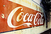 Coca Cola Sign  Print by Scott Pellegrin