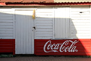 Honduras Framed Prints - Coca Cola  Framed Print by Sophie Vigneault
