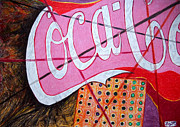 Coca-cola Signs Art - Coca by Daniel Janda