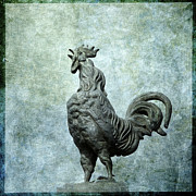 Textured Effect Prints - Cock Print by Bernard Jaubert