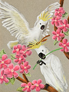 Jeanette K - Cockatoo with Flowers
