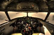 David Morefield - Cockpit - Lockheed Model 18 Lodestar