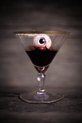 Blood Photos - Cocktail for Dracula by Edward Fielding
