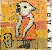 Chihuahua Artwork Posters - Coco #4 Poster by Jen Kelly Hirai