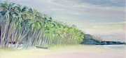India Painting Metal Prints - Coco Beach Goa India Metal Print by Sophia Elliot