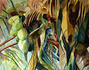 Julianne Felton - Coconuts and palm fronds...