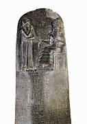 Code Of Hammurabi. Ca. 1750 Bc Print by Everett