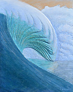 Seascape. Wave Reliefs - Code Red by Nathan Ledyard