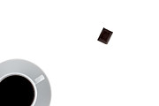 Coffee Drinking Photo Posters - Coffee and Chocolade Poster by Gert Lavsen