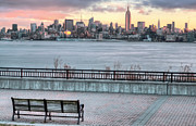 New York City Skyline Photos - Coffee Anyone by JC Findley