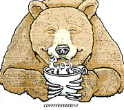 Lorna Babcock - Coffee Bear