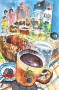 Miki De Goodaboom - Coffee Break in Grakari in Crete