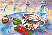 Miki De Goodaboom - Coffee Break in Spili in Crete