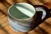 Pottery Ceramics - Coffee Connoisseur No.4 by Christine Belt