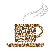 Coffee Cup Print by Aged Pixel