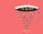 Soy Posters - Coffee Cup The Jetsons Red Poster by Andee Photography