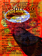 Coffee Shops Posters - Coffee Lover 5D24472m12 Poster by Wingsdomain Art and Photography