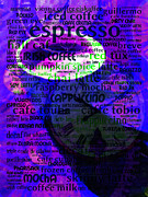 Coffee Shops Posters - Coffee Lover 5D24472m128 Poster by Wingsdomain Art and Photography