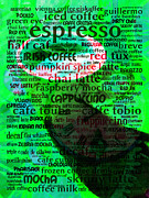 Coffee Shops Posters - Coffee Lovers Diary 5D24472p108 Poster by Wingsdomain Art and Photography