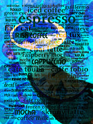 Coffee Shops Posters - Coffee Lovers Diary 5D24472p168 Poster by Wingsdomain Art and Photography