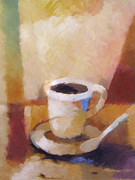 Java Paintings - Coffee by Lutz Baar