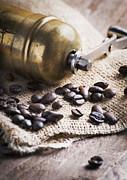 Coffee Mill Print by Jelena Jovanovic
