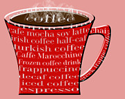 Andee Photography - Coffee Mug Red Typography