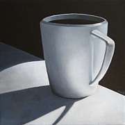 Espresso Paintings - Coffee Noir by Mariam Pare
