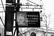 London Shopping Posters - Coffee or Tea Poster by Christi Kraft