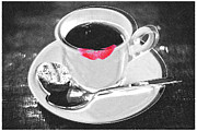 Coffee Drinking Framed Prints - Coffee Framed Print by Tony Rubino