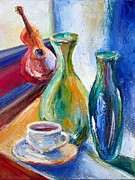 Frederick Luff Prints - Coffee Vases  Print by Luff  Gallery