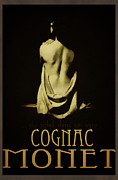 Cognac Framed Prints - Cognac Monet Framed Print by Cinema Photography